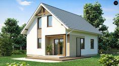 Фото 2 проект  «Z71. Оригинальный дом компактной формы»