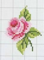 1 14-1~2 Tiny Cross Stitch, Cross Stitch Kitchen, Cross Stitch Cards, Cross Stitch Flowers, Cross Stitch Designs, Cross Stitching, Cross Stitch Embroidery, Embroidery Patterns, Cross Stitch Patterns