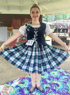Bonnie Shadow Tartan Aboyne outfit (With cheetah print lining) on Bethany at Saline Celtic Festival 2015 by Thistle Do Nicely Designs. Celtic Festival, Tartan, Plaid, Giddy Up Glamour, Steam Punk Jewelry, Irish Girls, Funny Tattoos, Wedding Quotes, Cheetah Print