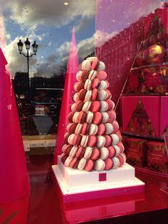 Favourite Macaron arrangement at Fauchon - Paris