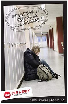STOP A BULLY  School Anti-Bullying Materials