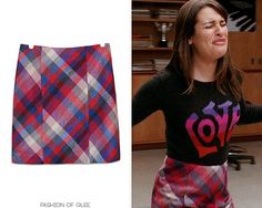 H&M Plaid Pleated Skirt -Worn with: Quotation sweater, (similar) Kohl's tights Glee Fashion, Fashion Styles, Fashion Ideas, Rachel Berry Style, Dress Outfits, Cool Outfits, Plaid Pleated Skirt, Outfit Goals, Lea Michele