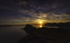Photograph Keipen by Robert Alexandersen on Hermann Hesse, Great Photos, Amazing Photos, Amazing Places, Midnight Sun, Lofoten, Small World, Nature Pictures, Mother Nature