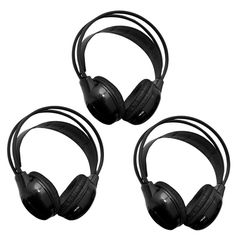 Do you have more than 4 little ears in the back seat?  Then add additional Group Of 3 Channel Ir Wireless Car Audio Headphone Headset For Headrest DVD Monitors for the extra ears.  #headrestdvdplayer #wirelessheadphones