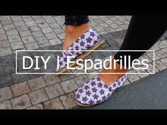 DIY l Espadrilles Tutorial - YouTube
