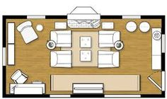 layouts for living rooms with fireplace - Google Search