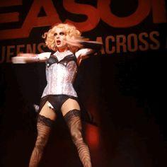 Katya at the Season 8 tour in Portland, OR. Katya And Trixie Mattel, Jinkx Monsoon, Katya Zamolodchikova, Adore Delano, Rupaul Drag, Club Kids, Drag Queens, Season 8, Beautiful Boys