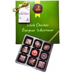 Sjaak's Organic Chocolates - Vegan Dark Chocolate European Assortment