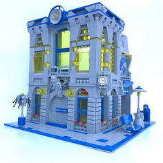 10251 Brick Bank - Classic Space Redux | by justin_m_winn