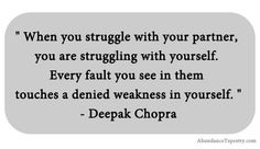 Deepak Chopra on Struggle.  Interesting, ...thoughts?