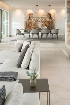 """""""The Cap Adriano experience"""" by Minotti Interior Design Your Home, Living Room Interior, Living Room Decor, Living Room Inspiration, House Rooms, Sofa Design, Home Decor Styles, Luxury Living, Home And Living"""