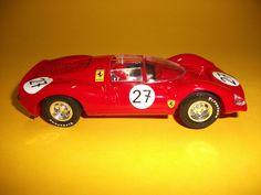 Coche Scalextric Ferrari GT 330 - Rojo - Buen Estado