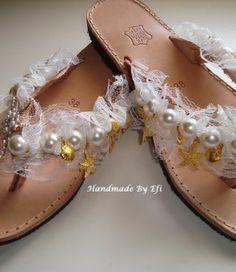 handmade greek sandals Greek Sandals, Palm Beach Sandals, Lip Balm, Handmade, Shoes, Fashion, Moda, Hand Made, Zapatos