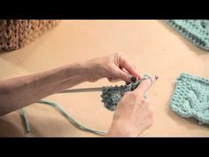 Learn How to do a Cable Knit with @Vickie Hsieh Hsieh Hsieh Howell - YouTube