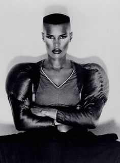 """Warm Leatherette"" Single (1980)Model: Grace JonesPhotographer: Jean-Paul Goude"