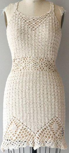 Desert Trip crochet dress