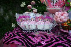 Diva 1st birthday cupcake cookies