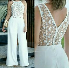 Pin by Elizabeth Gomes Da Silva Araújo on modelos de roupas White Outfits, Casual Outfits, Fashion Outfits, Womens Fashion, Pretty Dresses, Beautiful Dresses, African Fashion, Casual Chic, Evening Dresses