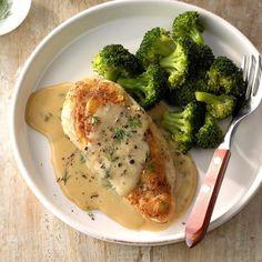 60 Cheap Dinner Ideas for Family Meals Under $10 | Taste of Home Chicken Potatoes, Baked Chicken, Dill Chicken, Broccoli Chicken, Mushroom Broccoli, Smothered Chicken, Keto Chicken, Healthy Chicken, Chicken