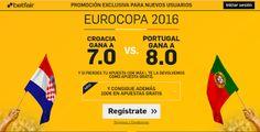 el forero jrvm y todos los bonos de deportes: betfair Croacia o Portugal ganan supercuota Euroco...