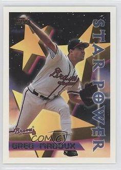 1996 Topps #3 Greg Maddux Atlanta Braves Baseball Card 0c4