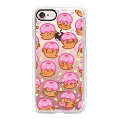 Donut Ghost Sprinkles - iPhone 7 Case, iPhone 7 Plus Case, iPhone 7... ($40) ❤ liked on Polyvore featuring accessories, tech accessories, iphone case, slim iphone case, apple iphone cases, iphone cover case and iphone cases