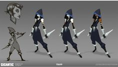 Community Canvas — Here's some concept art of Tripp from our recent.