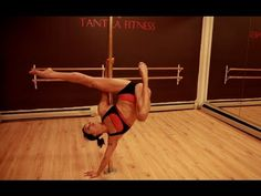 Tantra Tutorials presents Natasha Wang and The B-Girl. #poledance #poletricks