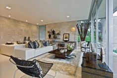 Living Room : Eclectic style living room by Viterbo Interior design