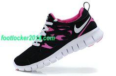 Nike Free 2 Black Pink For Women Sneaker