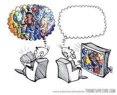 How I feel when reading books