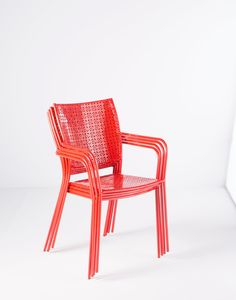 Helena Stacking Dining Arm Chair