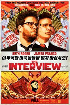 Poster: The Interview mit Seth Rogen und James Franco #TheInterview #SethRogen #JamesFranco