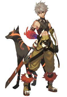 Toma & Zenus - Characters & Art - Shining Force EXA