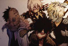 Boku no Hero Academia x Oumagadoki Doubutsuen || Cross-Over [ Isana, Shiina, Dabi, Shigaraki Tomura. ]