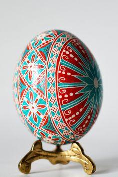 Ukrainian Easter Egg  #folkmoot Visit http://folkmootusa.org/