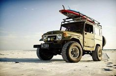 Toyota FJ40 Beach Cruiser