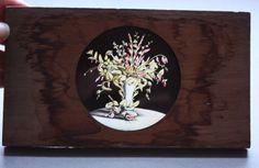 T.H .McAllister Antique American Wooden Magic Lantern Slide