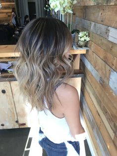 45 blonde and brown highlights for a fresh new look page 36 Balayage , Brown Ombre Hair, Brown Blonde Hair, Light Brown Hair, Ombre Hair Color, Brown Hair Colors, Brown Hair On Asian, Asians With Blonde Hair, Blonde Asian Hair, Beige Hair
