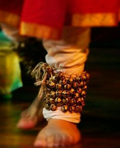 Ghungroo (ankle bells) used in kathak dance