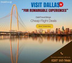 Cheap Flight Deals, Cheap Flight Tickets, Best Airfare Deals, Visit Dallas, Book Cheap Flights, Tours, London, Activities, Travel