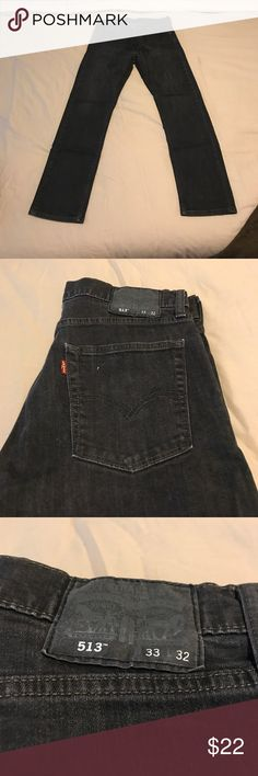 Levi's 513 grey jeans 33 32 Got last year but don't fit any more. Worn 2 times at most Levi's Jeans Slim Straight