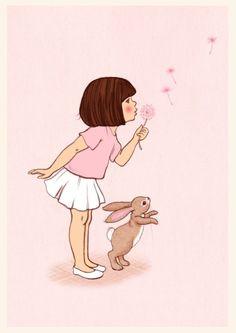 Belle & Boo illustration by Mandy Sutcliffe Art And Illustration, Illustration Mignonne, Belle Y Boo, Vintage Abbildungen, Vintage Postcards, Art Mignon, Cute Art, Illustrators, Art Drawings