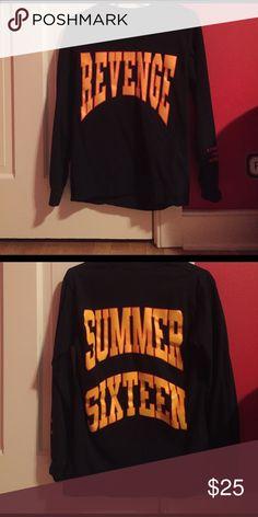 Drake Summer Sixteen Revenge Tour Longsleeve - UA Drake Summer Sixteen Revenge Tour Long Sleeve - brand new, deadstock - unauthorized replica Gildan Shirts Tees - Long Sleeve
