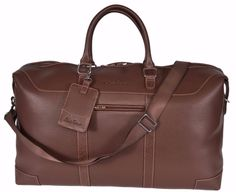 Robert Graham New $498 Sammy Faux Leather Weekender Duffle Brown Travel Bag. Save big on the Robert Graham New $498 Sammy Faux Leather Weekender Duffle Brown Travel Bag! This travel bag is a top 10 member favorite on Tradesy. See how much you can save.