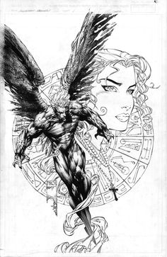 Ascension preview/cover art by David Finch! (Image/Top Cow comics)