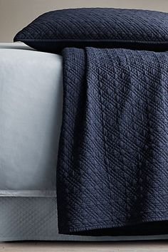 Restoration Hardware Vintage Washed Cotton Voile Quilt, $154.99, available at Restoration Hardware, 1222 Wisconsin Avenue NW; 202-625-2771. #refinery29 http://www.refinery29.com/blankets#slide-3