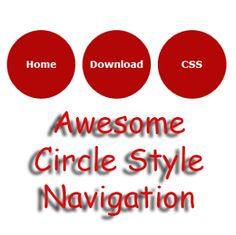 Awesome Circle Style Navigation Menu for Blogger   Blogger Trix   Blogger Tips and Tricks   Free Templates