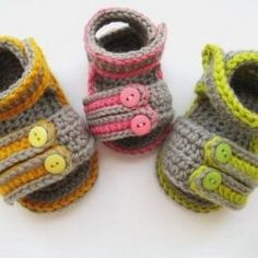 8772cc02b543 Crochet Dreamz  Sporty Sandals for Boys or Girls Crochet Baby Booties  Pattern( pdf pattern for sale)