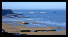 Arromanches Beach - Arromanches-les-Bains, Basse-Normandie